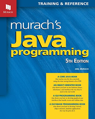 Murach's Java Programming (5th Edition) 2017