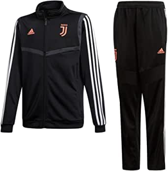 adidas 19/20 Juventus Polyester Youth Suits Unisex - Bambini