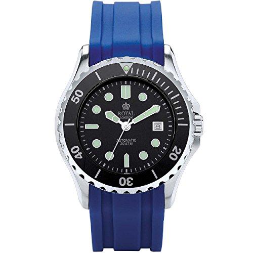 Royal London Hombre Reloj de pulsera Sport 41181–05automático