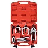 Festnight Kit de Herramietas para Front-End Servicio 5 Piezas Rótula Separador Brazo Pitman Barra de Acoplamiento Extractor