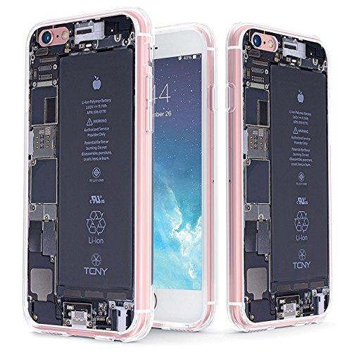 True Color claro escudo Broken iPhone colección, Open iPhone Back, For iPhone 6s