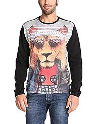 Desigual Lion John - T-shirt - Col ras du cou - Manches courtes - Homme