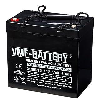 VMF AGM Deep Cycle Bleiakku Batterie Blei Akku wartungsfrei 12V 60Ah DC60-12