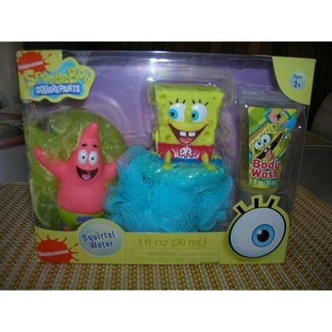 Spongebob Squarepants Tub Time Friends 3 Pcs