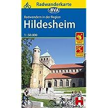 BVA Radwanderkarte Radwandern in der Region Hildesheim, 1:50.000, reiß- und wetterfest, GPS-Tracks Download (Radwanderkarte 1:50.000)
