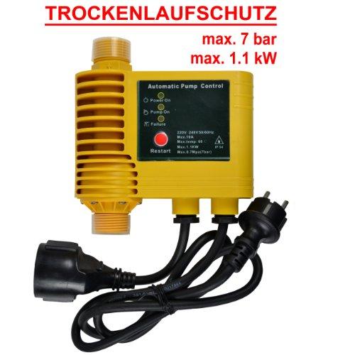 PRESSOSTATO - REGOLATORE DI PRESSIONE ACQUA- FLUSSOSTATO 23A-Sensor-Controller - PRESSCONTROL cablato per pompa autoclave pompa sommersa pompa per pozzi pompa centrifuga