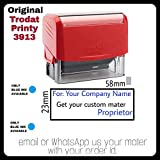 TRODAT PRINTY 3913 with Your Customized Matter SELF Inking Rubber Stamp