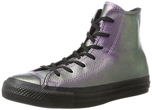 Converse Unisex-Erwachsene CTAS HI Violet Black Hohe Sneaker Mehrfarbig, 40 EU