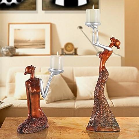 Candela titolare decorazione/Candela dellannata europea idee romantiche/Supporto di candela del Casa di modello di tabella---A-A