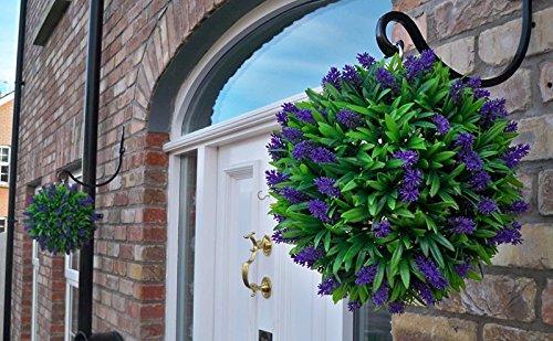2 Best Artificial (TM) 30cm Purple Lush Lavender