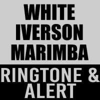 White Iverson Marimba Ringtone and Alert