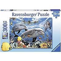Ravensburger - Puzzle con diseño de delfines, 300 piezas (13052 8)
