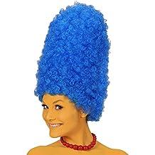 Tall Blue Beehive Marge Wig (peluca)