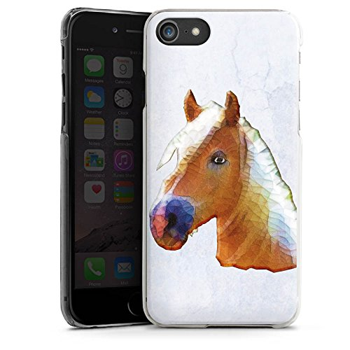Apple iPhone X Silikon Hülle Case Schutzhülle Pferd Stute Hengst Hard Case transparent