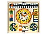 BAMBOLINO 33092 - Miffy Calender Clock