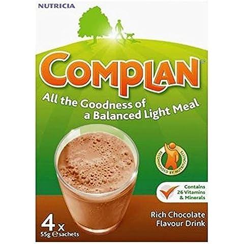 ComplanSapore Di Cioccolato Bevanda Nutrizionale 4 X 55G (Confezione da 6)