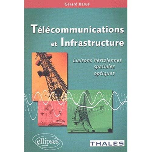 Télécommunications et infrastructure : Liaisons hertziennes, spatiales, optiques