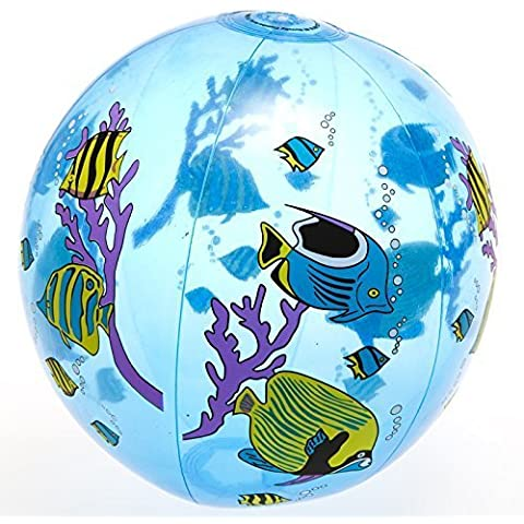 Tropical Fish Beach Ball by Century Novelty