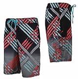 Nike Herren Board Short Julian + Scout Laces Badehose Badeshort Schwimmen bunt, Weite/Länge:30/30;Farbe:451791-393 Grau/Rot
