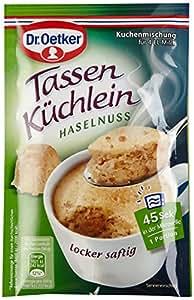 Dr. Oetker Tassenküchlein Haselnuss, 12er Pack (12 x 54 g)