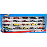 Hot Wheels Mattel H7045 20 Car Gift Pack,Free matchbox