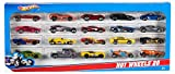 Hot Wheels 20-packs deliver 20 of the coolest 1:64 scale die-cast vehicles. This is the ultimate gift set of die-cast vehicles. Not for use with some Hot Wheels sets. Window box. Ages 3 and older.