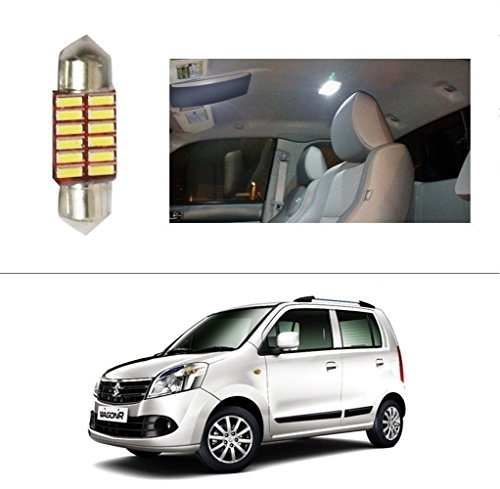AutoStark 12 LED Roof Light Car Dome Light Reading Light For Maruti Suzuki Wagon R Duo  available at amazon for Rs.99