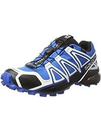 Salomon Homme Speedcross 4 GTX Chaussure de Course à Pied et Trail running, Synthétique/Textile