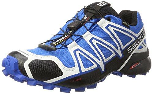 Salomon Mens Speedcross Vario 2, Sintetico / Tessile, Scarpe Da Trail Running Multicolore (indaco / Nero / Bianco)