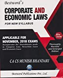 Corporate And Economic Law For New Syllabus Applicable for November 2018 Exams