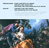 Felix Mendelssohn Bartholdy: Piano Concerto in A Minor / Variations, Op. 83a /Wolfgang Amadeus Mozart.: Concerto for 2 Pianos, K. 365 (Stockigt, Lejsek, Lejskova)