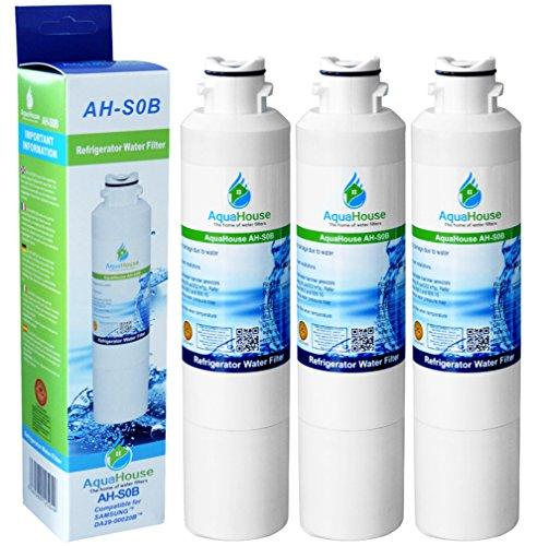 3x AH-S0B kompatibel für Samsung DA29-00020B, HAF-CIN/EXP Wasserfilter, DA97-08006A-B, DA29-00020A Kühlschrank Wasserfilter