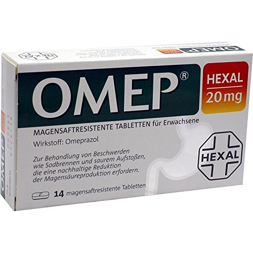Omep HEXAL 20 mg, 14 St. Tabletten -