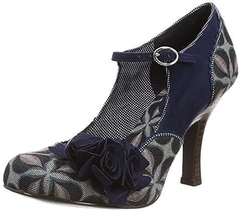 Ruby Shoo Ashley, Women's Court Shoe, Blue (Teal), 9 UK (42 EU)