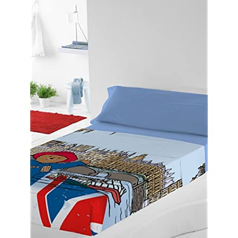 osito paddington juego de sbanas parlament multicolor cama