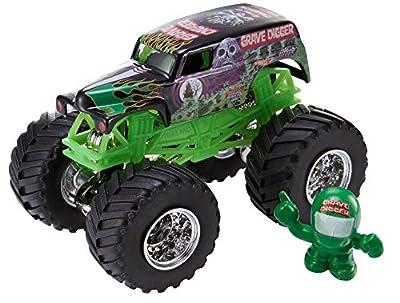 Mattel CBF32 - Hot Wheels Monster Jam Grave Digger von Mattel