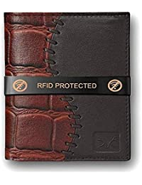fashionlink Wallet for Mens (Light Brown)