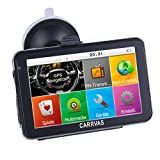 Carrvas 9 Inch Truck GPS Navigationssystem Europe Traffic GPS Navigation for Car Vehicle with Free Lifetime Map Updates