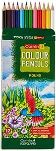 Camel Camlin Kokuyo Full Size Color Pencil - 12 Shades