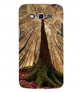 Nextgen Designer Mobile Skin for Samsung Galaxy Grand 2 :: Samsung Galaxy Grand 2 G7105 :: Samsung Galaxy Grand 2 G7102 :: Samsung Galaxy Grand Ii (Trees Fallen Leaves Red Leaves Branches Woods)