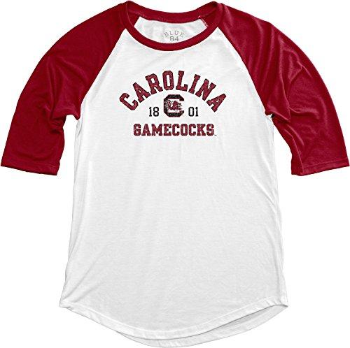 Blue 84 NCAA South Carolina Baseball-T-Shirt für Erwachsene, Damen, NCAA, Teagan, Größe M, Kardinal -