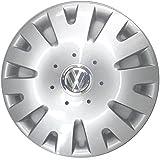 Volkswagen VW 4 x Original VW Radzierblende - Radkappe - 14 Zoll - Fox/Polo - 5Z0071454 / 6Q0601147Q RGZ