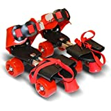 Sufi World Roller Skates for Kids Age Group 5-10 years Adjustable inline Skating Shoes (multi color)