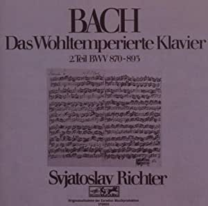 Bach: Das Wohltemperierte Klavier Vol. 2 [Import allemand]