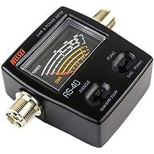 Nissei RS 40 V/UHF 200 W SWR y medidor de Potencia (140-