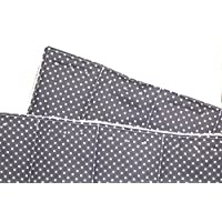 Bandagierkissen grau mit Pünktch