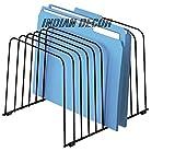 Indian Decor Office Desktop Organizer 282220/FILE Separator/File Rack/Letter Rack