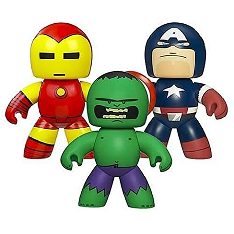 Marvel Legends Mighty Muggs (Incredible Hulk, Iron Man, Captain America)