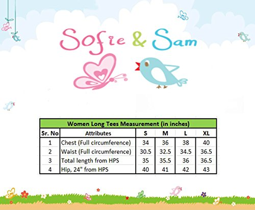 Sofie & Sam Damen T-Shirt 2pcs Car & Deera with Flower