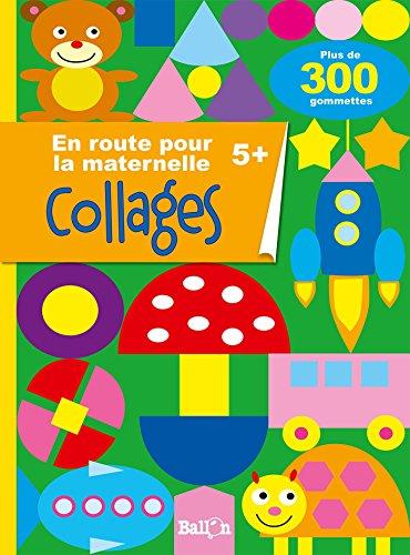 Mon livre de gommettes pour la grande section (En route pour la maternelle) par Ballon
